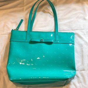 Kate Spade Turquoise Tote Bag
